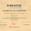 2012 Certifikat Breast augmentation and reconstruction